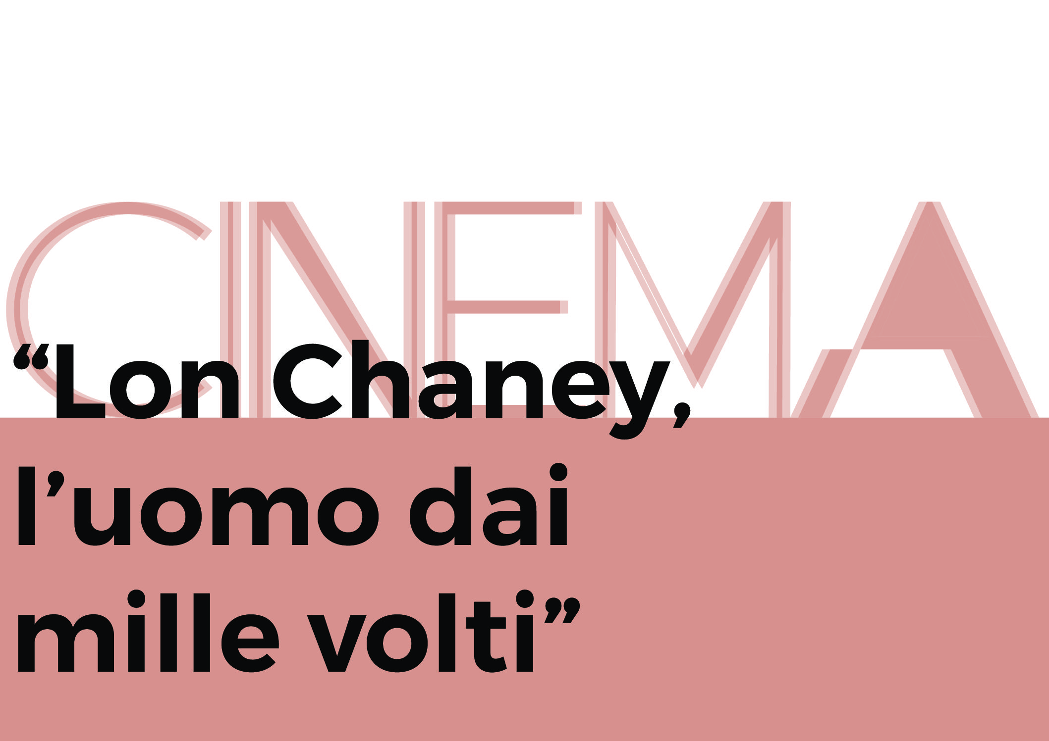 Lon Chaney, l'uomo dai mille volti – immagine