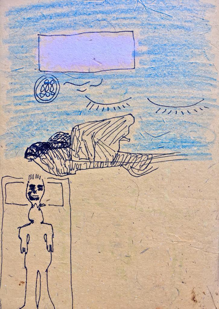 """Litografia per racconto """"La morte di Miguel"""
